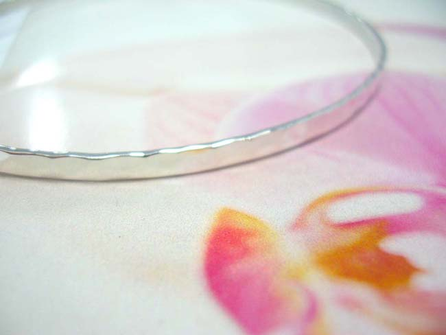 New age balinese jeweler exchange company, Handcrafted bali bangle bracelet from 925. sterling silver with wave like sides
